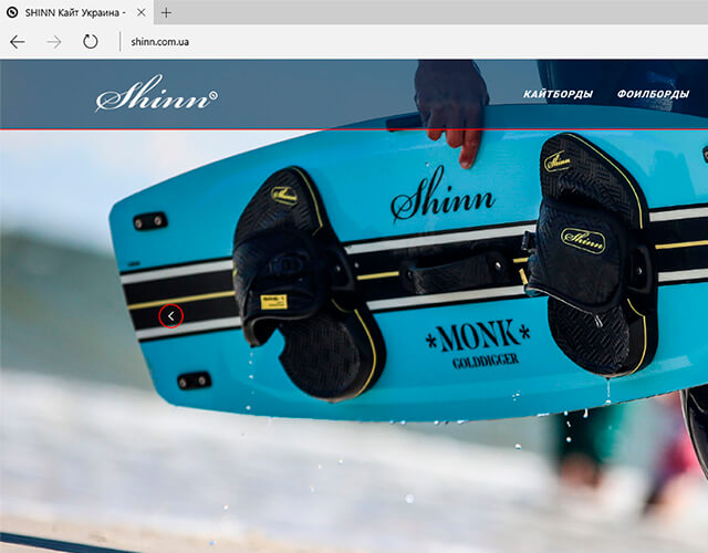 Portfolio SHINN Kite Ukraine