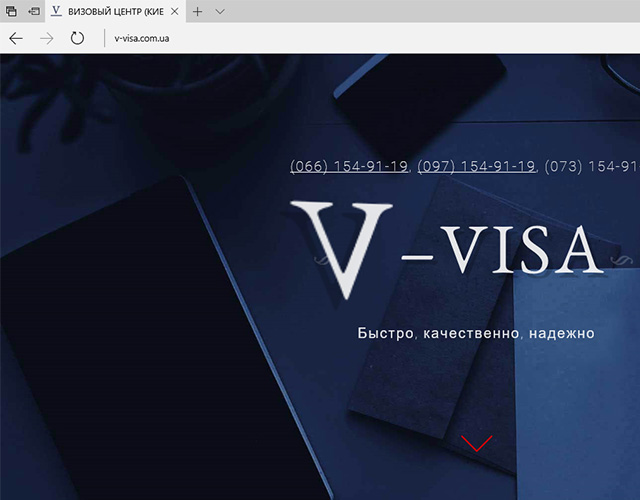 V-Visa - Official Website